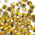 Diamonds 3mm - Resin Crystal - Golden