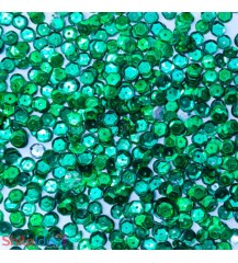 Sequins Round Cupped 5mm - Green